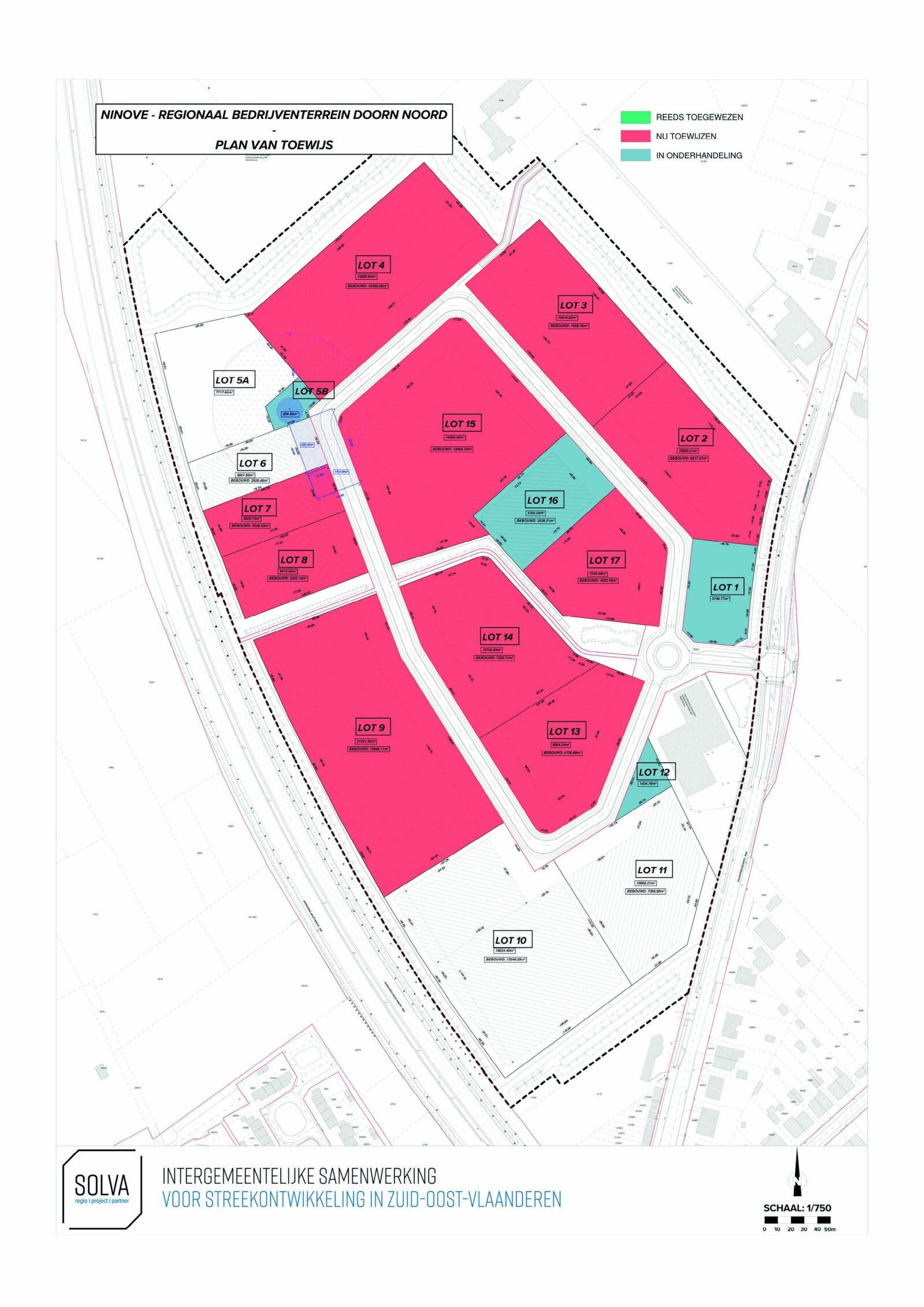 Ninove Doorn Noord Plan Van Toewijs